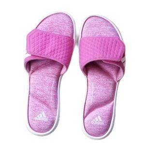 ADIDAS Womens Fit Foam Flip-Flops (Size 10)